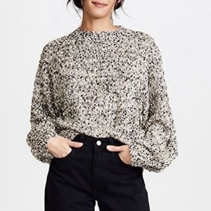 Anthropologie - Moon River   Marled Knit Sweater